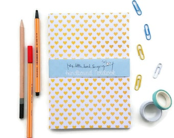 Back to School Supplies - Travel Notebook - Bullet Journal - Exercise Book  - 60 Pages