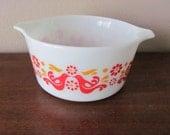 Vintage PYREX Friendship Cinderella # 473 1 Quart Baking Dish Ex. Condition