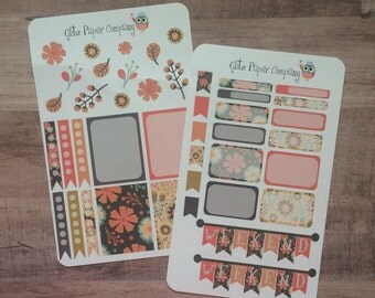Fall Floral weekly kit
