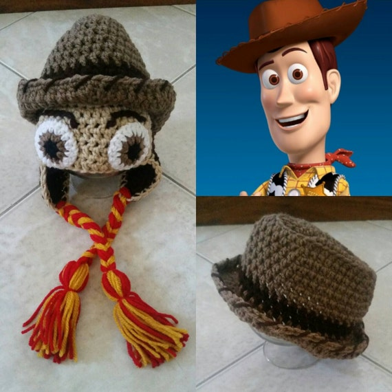 Toy Story Knitting Patterns Woody : Crochet Toy Story Woody Hat