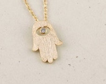HAMSA >> lucky charm << for when you hit your not funny bone << you are LUCKY affirmation card