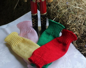 Infant Leg Warmers Red/ Green /Yellow /Pink/Purple/Royal/White/Hot Pink