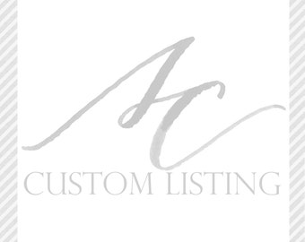 Additional Pricing for Kirsten