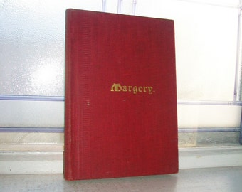 Antique Danish Book Margery by Emely Sarah Holt