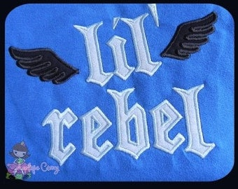 LiL' Rebel Applique design