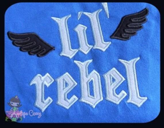 LiL' Rebel Applique design