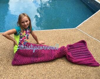 READY TO SHIP!!  Crochet Mermaid Tail, Mermaid Tail Blankets, Mermaid Afghan, Mermaid Fin, Mermaid Costume