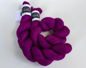 classic {sock} mini's | DIVA | ready to ship | hand dyed yarn | merino nylon