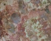 Hand Dyed Quilt Cotton Fabric, Dried Flowers (LS) #90