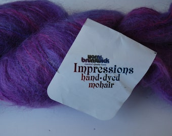 1 skein Brunswick yarns mohair maui ombre