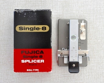 Single 8 film splicer