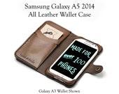 Galaxy A5 2014 Leather Wa...