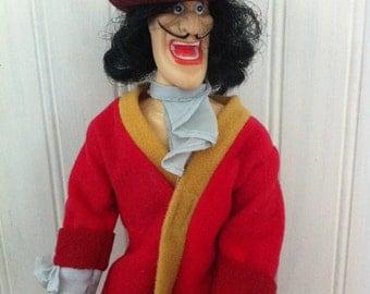 Captain Hook-Disney-Sears-1980- Peter Pan- Captain Hook doll