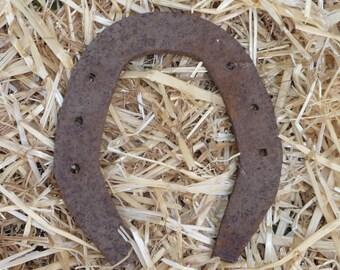 Lucky Horseshoe, Vintage Horseshoe, Rusty Horseshoe