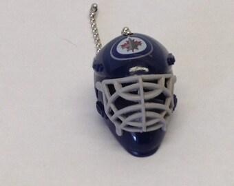 Handmade,Winnipeg Jets Face Mask Pull Chain, Ceiling Fan Pulls
