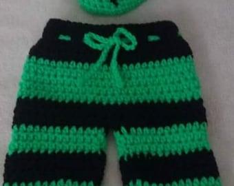 Crocheted Baby Frankenstein