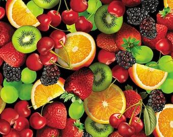 Kanvas Studio - Fresh Squeezed by Maria Kalinowski - Fruit Salad Black