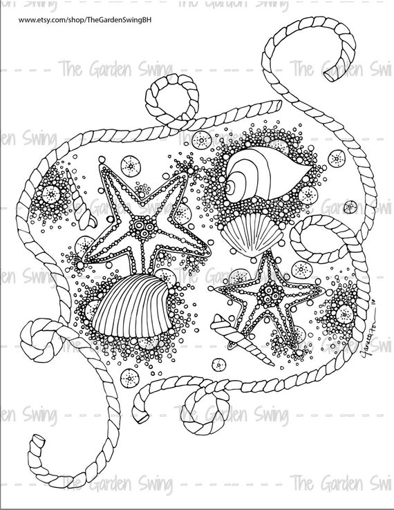 Nautical scene coloring pages for adults nautical best for Adult coloring pages nautical