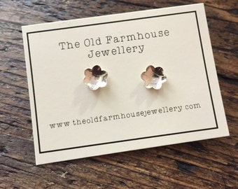 Tiny Buttercups Studs
