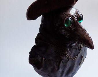 Gothic Plague Doctor Bust