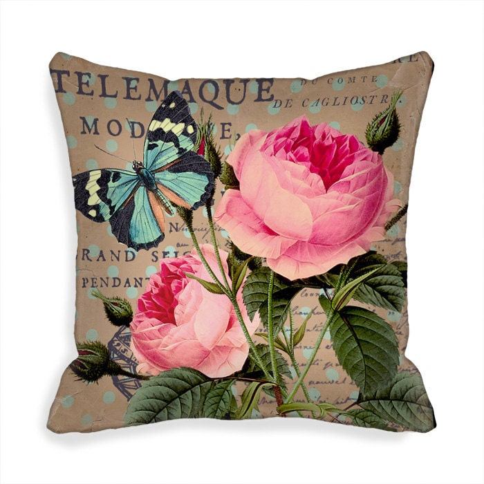 Decorative Throw Pillow Covers 18 x 18 inch Art Pillow