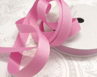 Dusty Rose Grosgrain Ribbon 3/8 -- 9 yards -- American Crafts -- Orchid -- Mauve -- 58463 -- 9.5mm