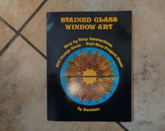 Book -  Stained glass Window Art by Luciano C 1976