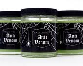 Halloween Candles - Spider -  Anti Venom - Candy - Sweet