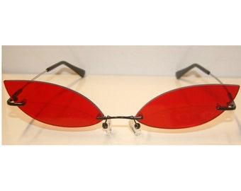 Red Cosplay Costume Glasses V4
