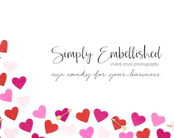 Styled Stock Photography | Valentines Styled Stock | Product Photography | Banner Image