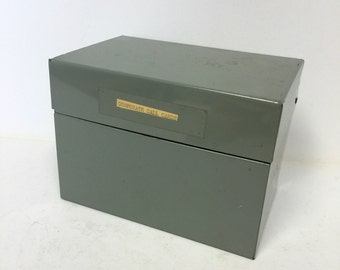 Metal box, metal file box, file box