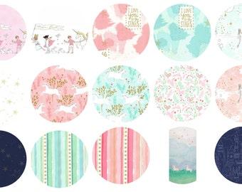 Magic - Fat Quarter Bundle - Sarah Jane for Michael Miller - SJM-FQ - 15 prints