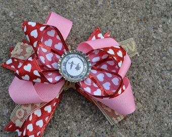 Unique Hair Bow, Ready to Ship as Pictured