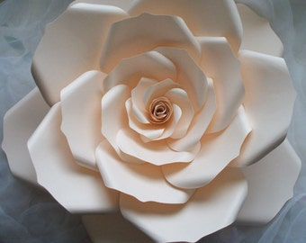 Large Paper Flower,Nursery Flower Backdrop,Wedding Backdrop,White Paper Flower,Backdrop,Flower Photo Prop,Paper Flower,Wedding Table Décor