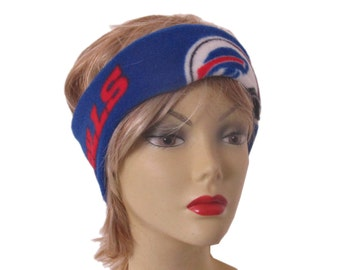 Buffalo Bills Football Fleece Winter Headband Ear Warmer