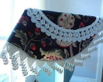 Antique Crocheted Doilies - Refashioned Doilies - Round Vintage Doilies - Farmhouse Doilies - Hand Crocheted Doilies