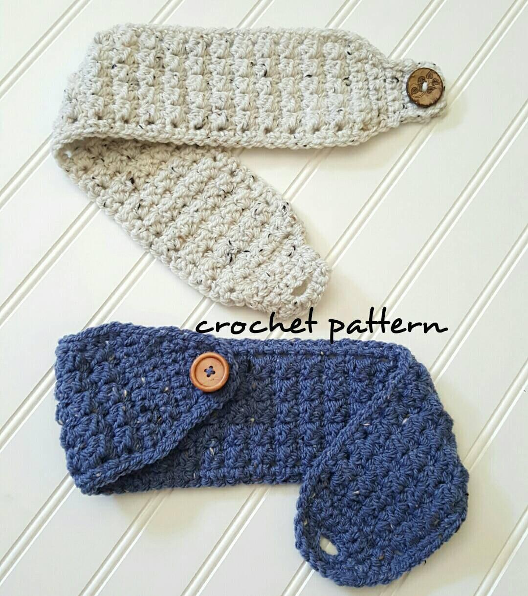 Crochet headband pattern easy crochet pattern winter head warmer this is a digital file bankloansurffo Choice Image
