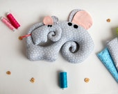 Mothers day gift 2017, Pregnancy gift, New baby gift, Mom to be Baby shower, new baby gift, elephant pregnant toy, mom to be plushie