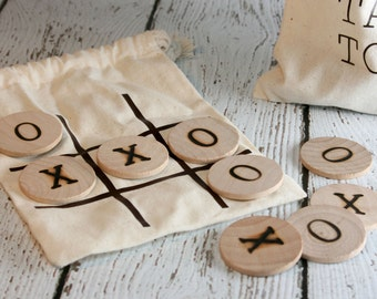 Tic Tac Toe Travel Game Set