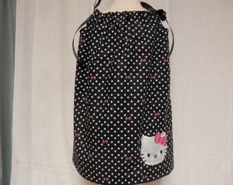 Hello Kitty, pillowcase dress,hello kitty pillowcase dress,hello kitty dress,sundress,hello kitty applique,kids dresses
