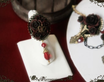 King of Decadent Rose Ring
