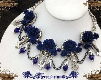 Vampire's Requiem Collar - Blue