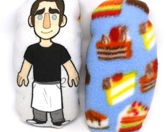 Ned the Piemaker Pushing Daisies Mini Pillow Plushie