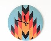 Sale, Wall Clock,  Trending Aztec Design,  Unique Wall Clock, Decor and Housewares, Home and Living, Home Decor