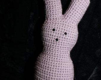 Small Peep Bunny, Rabbit Stuffed Animal, Easter Gift - Purple