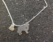 Border Collie Custom Necklace