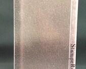 """StampeRor 5"""" x 7"""" stamp positioning folder pink"""