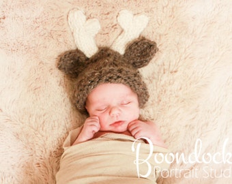 kids costumes reindeer hat newborn, 6 months, or 12 months photo prop for kids fall baby girl or boy
