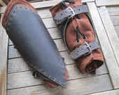 Ranger Leather Bracers - Arm Guards, Medieval, Renaissance, Armor