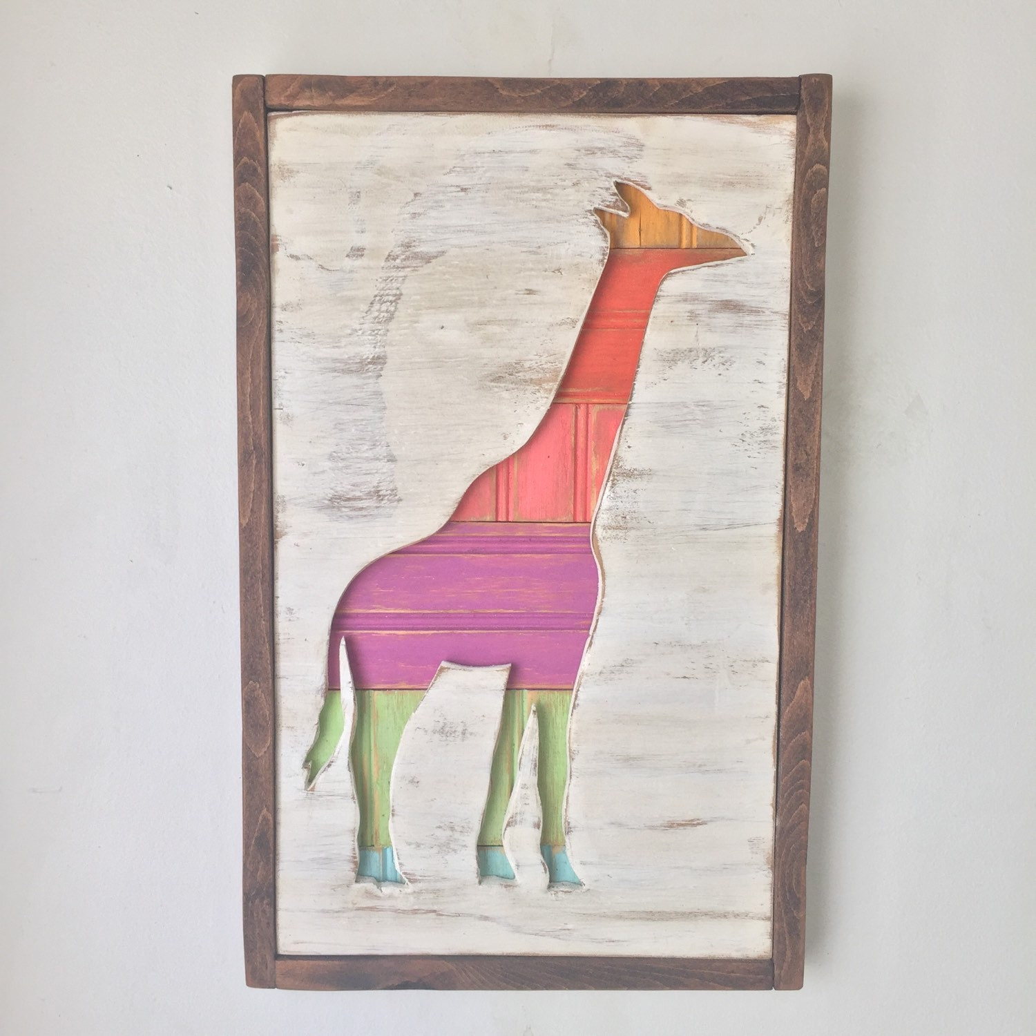 Giraffe Home Decor Nursery Room Decor